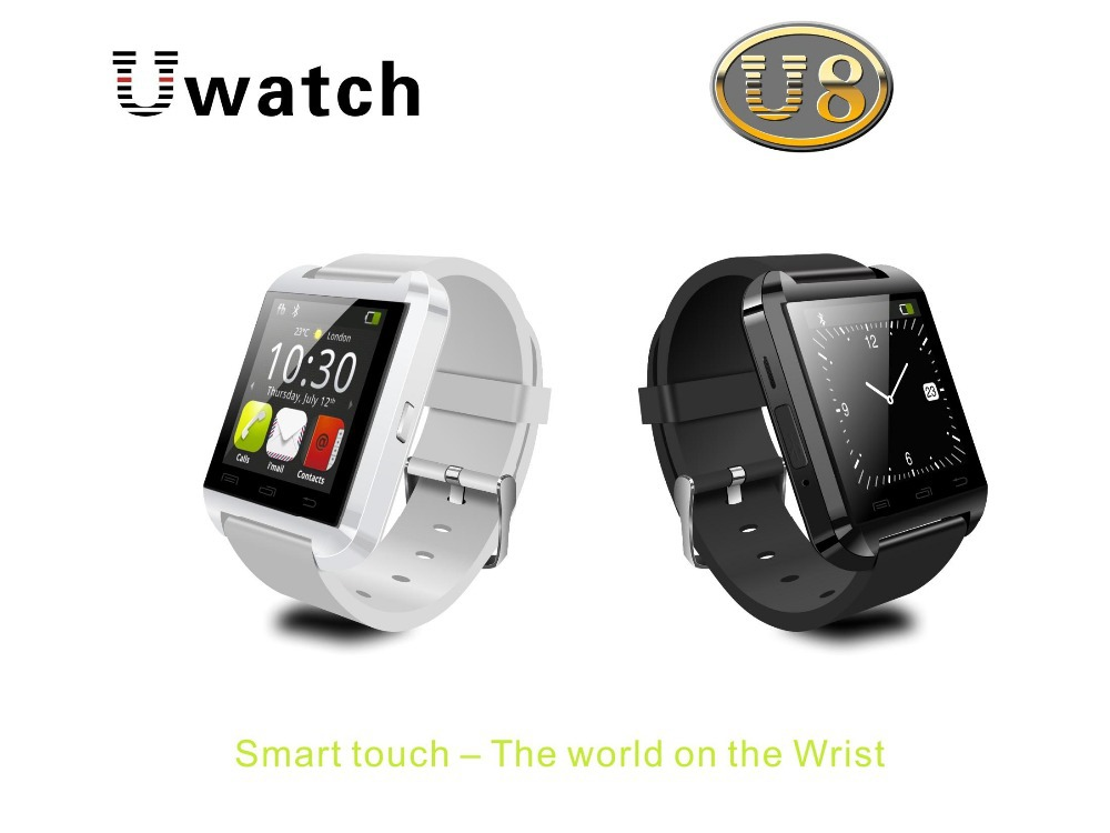 U8 bluetooth watch WristWatch,smart bluetooth watch wristwatch Support Sync Call Message for Android Phone Smartphones(China (Mainland))