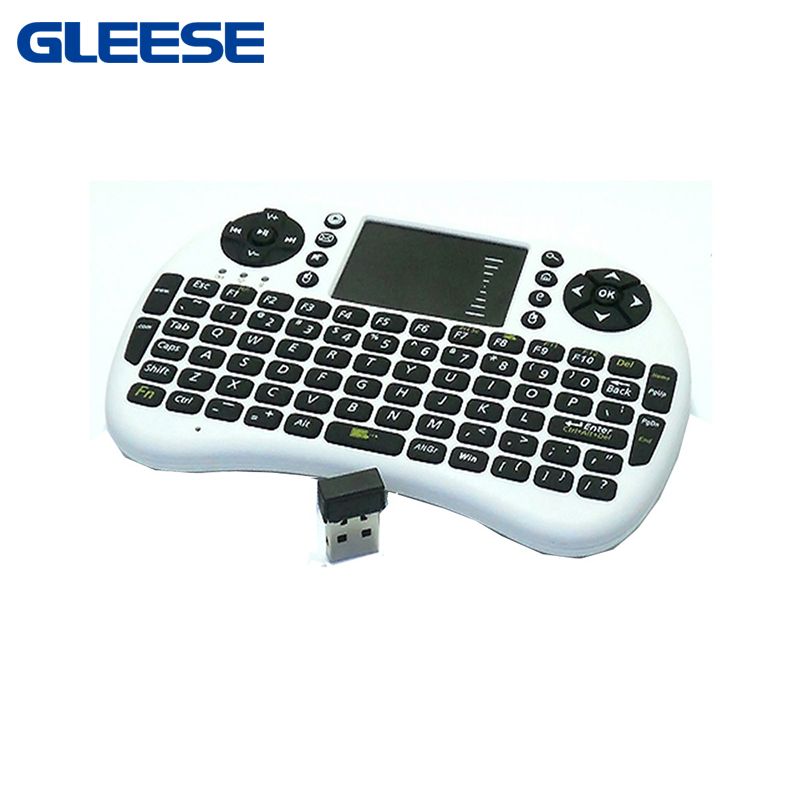 2016 Multi-media 2.4GHz Mini Wireless Keyboard Mouse Built-in Li-ion Battery Touch Pad Presenter(China (Mainland))