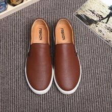 New 2016 font b Men b font font b Shoes b font Casual Black Leather font
