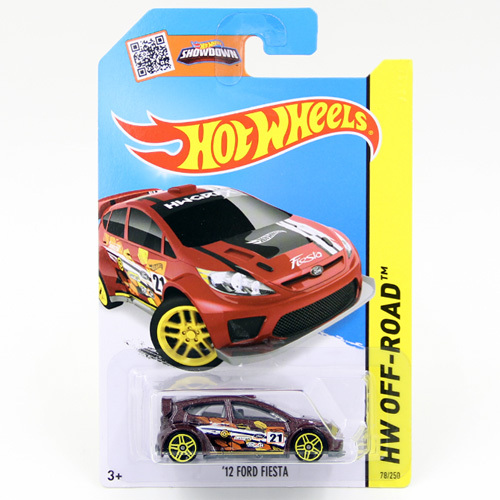 Free Shipping 1:64 Hot Wheels 12 FORD FIESTA Alloy Collectible Model Toy Car For kids C4982(China (Mainland))