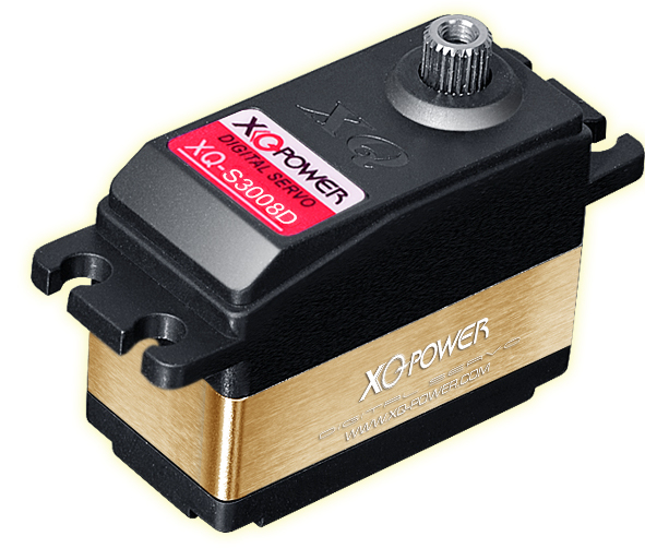 New Low Profile Servo XQ-S3008D for 1:5 RC motorrader(China (Mainland))