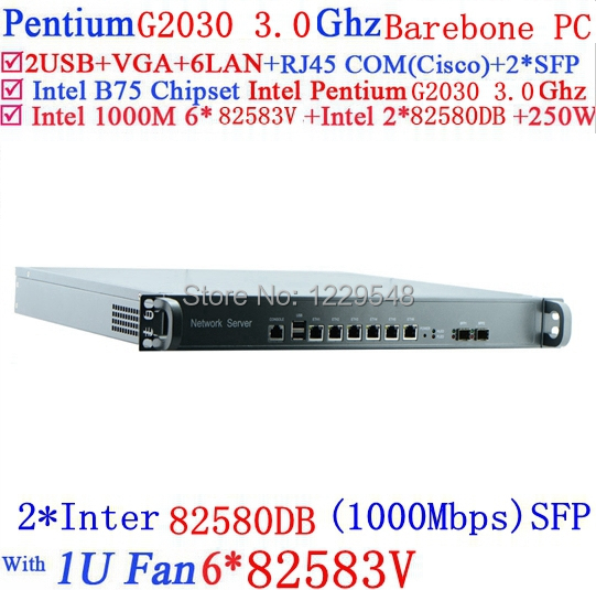 Firewall и VPN HX 1U 8 Gigabit lan Intel Pentium G2030 3,0 Barebone PC Mikrotik PFSense . . I3/I5/I7 desktops server 1u firewall pfsense 1u firewall router with 6 gigabit lan intel quad core i7 4770 3 9ghz wayos pfsense ros