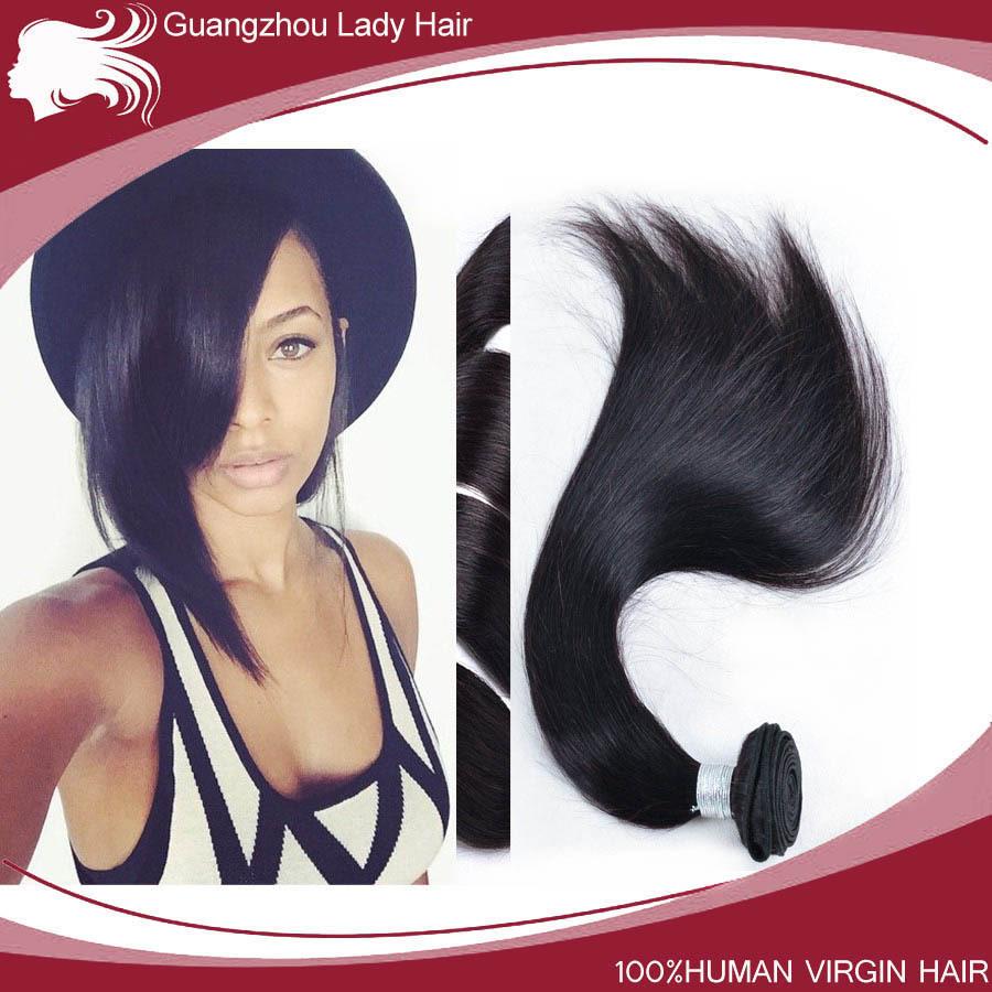 Brazilian Virgin Straight Hair 4 Bundles/lot,100% human hair,6A Grade Vingin Hair,Unprocessed Lady Hair Products.Freeshiping(China (Mainland))