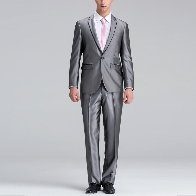 full grey suit dress yy