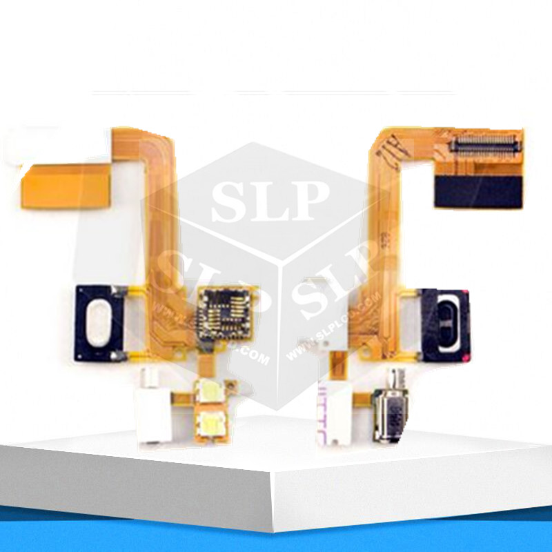 Flex Cable Ribbon for Sony Ericsson C510 Cell Phone camera speaker flash with components Flat Cable(China (Mainland))