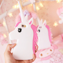 Buy Hot New Fantastic Cartoon Unicorn Horse Soft Silicone Phone Cases Cover iPhone 7 7Plus 4 4G 4S 5 5G 5S SE 5C 6 6G 6S 6Plus for $3.39 in AliExpress store