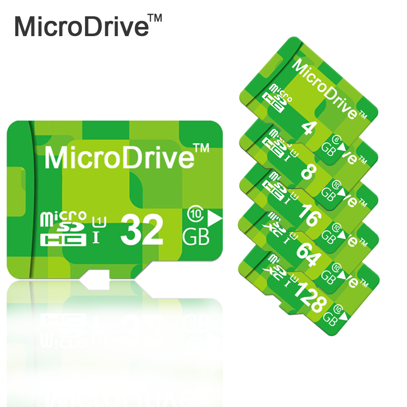 MICRODRIVE Green Memory Card 4GB 8GB 16GB 32GB 64GB Micro SD Card with retail package and adapter supports to Android Smat Phone(China (Mainland))