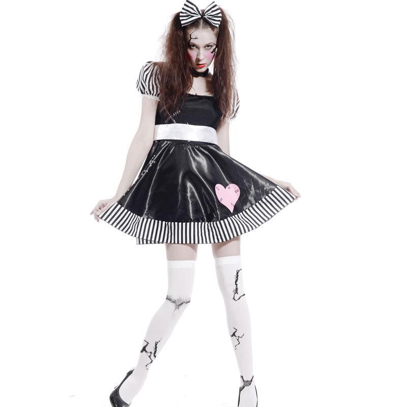 China Doll Halloween Fancy Dress Fancy Dress Costume(china