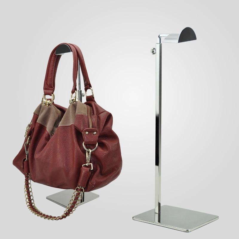Metal Adjustable Height Handbag Rack Bag Stand Holder Handbag Display Stand(China (Mainland))