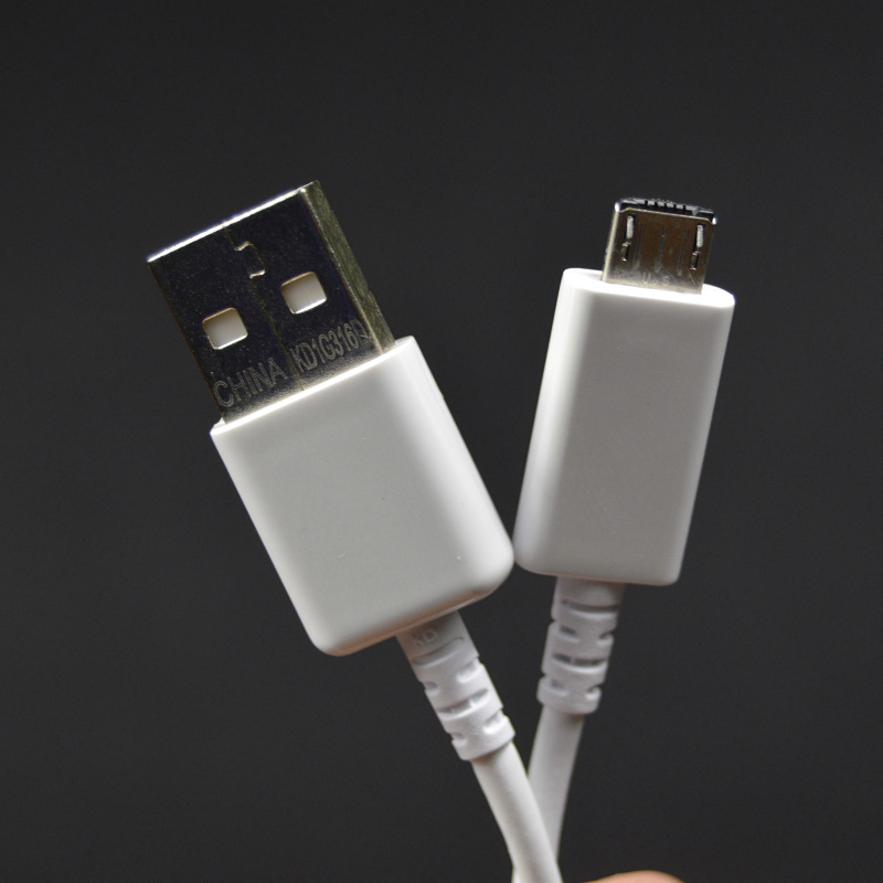Free Shipping 100% genuine original Micro USB Data Sync Charger Cable for Samsung Galaxy S6 /S6 Edge(China (Mainland))