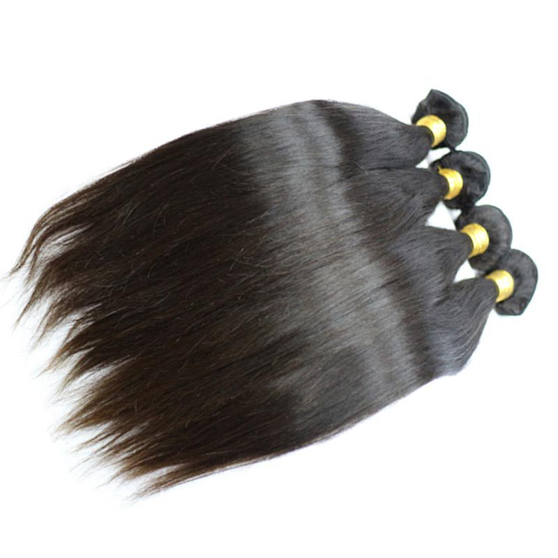 Hot Sell 10A Virgin Russian Hair Straight Russian Virgin Hair Weave Russian Straight Hair Human Hair Weave 3pcs lot
