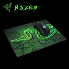 Razer Goliathus 210X250X2mm Gaming Mouse Pad Locking Edge Mouse Mat Speed/Control Version For Dota2 Diablo 3 CS Mousepad Win2(China (Mainland))