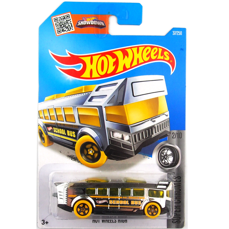 Hot Sale Hot Wheels 2016 school bus cars Models Metal Diecast Car Collection Kids Toys Vehicle For Children Juguetes(China (Mainland))