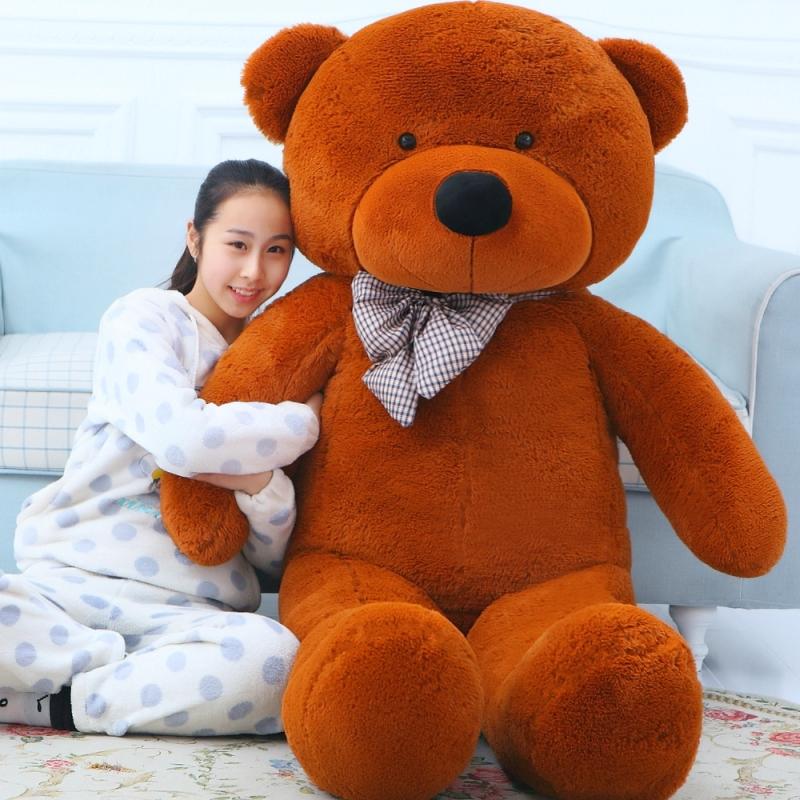 180cm Life size teddy bear plush toys giant soft stuffed animals baby dolls big peluches kid children doll Christmas Gift(China (Mainland))