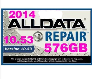 car repair software 2014 ALLDATA 10.53+2013 MITCHELL ON DEMAND with free shipping<br><br>Aliexpress