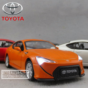 1:32 acousto-optic version Toyota FT86/GT86 supercar collection equipment alloy model cars(China (Mainland))