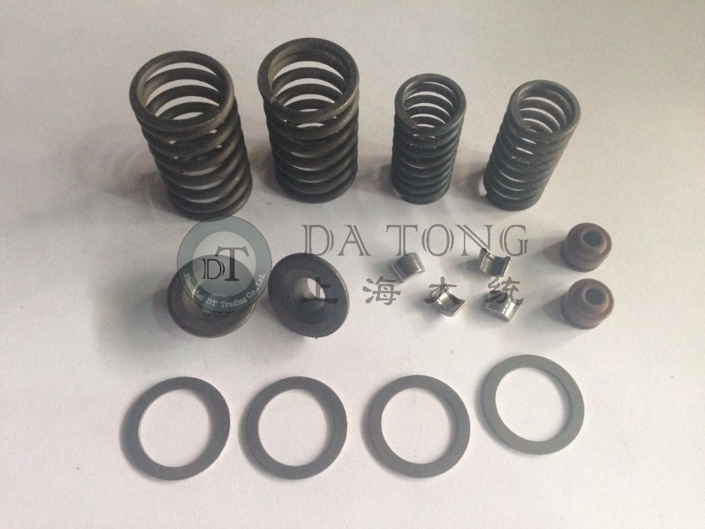 font b GY6 b font Scooter Valve Assembly Set With Oil Seal For 139QMA 157QMJ