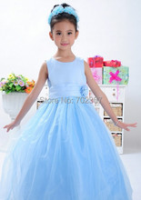 14pcs/lot free Princess Long Dress for Children