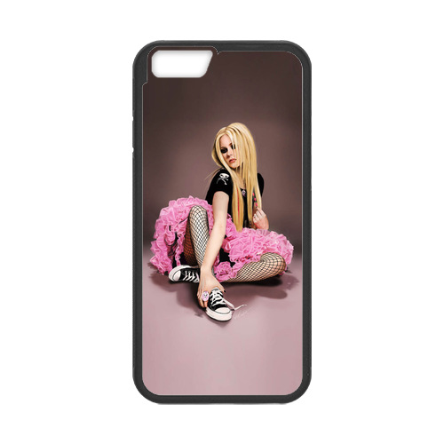 Avril Lavigne Hello Kitty Case for iPhone 6 Wallet Phone Case(China (Mainland))