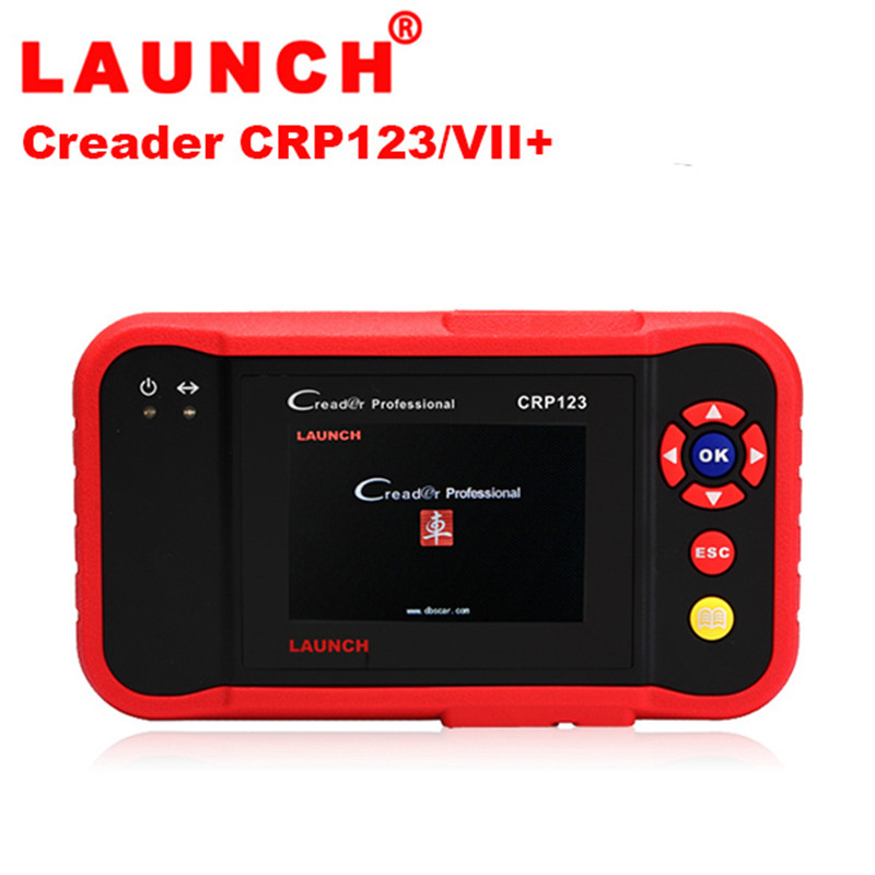 2017 LAUNCH Creader CRP123 Code Scanner Support Multi Brand Car Diagnostic Tool CRP 123 Car Code Reader Multi-language