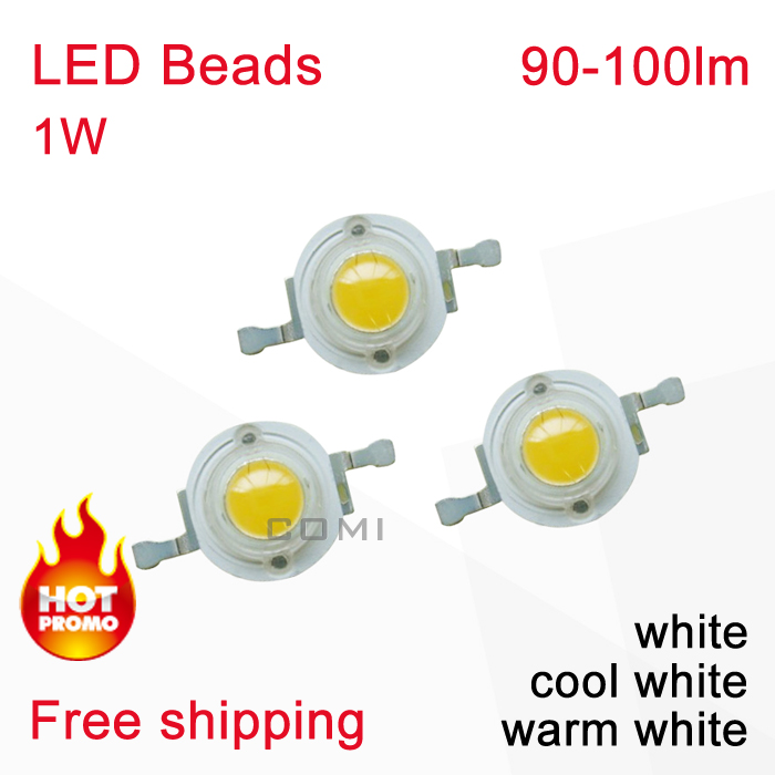 Epileds High Power LED Beads Emitting Diodes 90-100lm White & Warm Cold Color Light Spot Bulbs Lamp - Shenzhen COMI Technology Co., Ltd. store