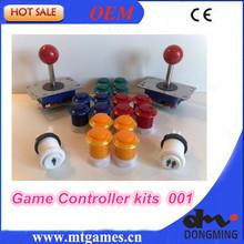 Arcade parts kits Bundle including arcade joystick arcade button for DIY contoller for arcade game,Mame,Raspberry PI(China (Mainland))