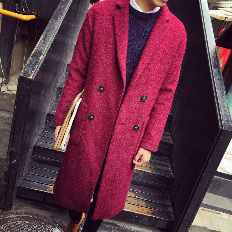 2015 Autumn&amp;Winter Mens Wool&amp;Blends Comfortable Warm Double-breasted Popular Coat M-XXLОдежда и ак�е��уары<br><br><br>Aliexpress