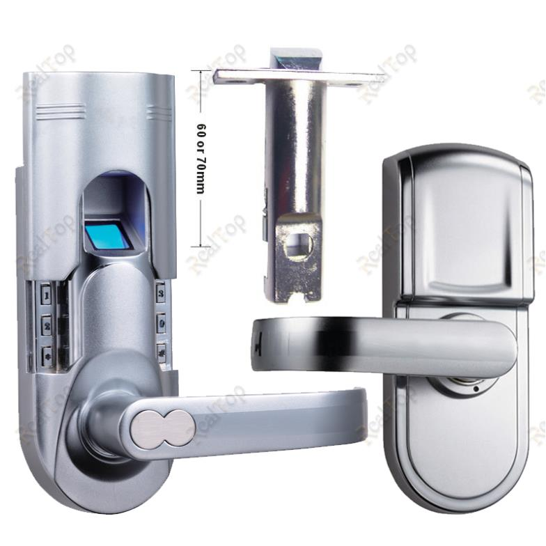 Right handed keypad keyless locks biometric fingerprint for 1 touch fingerprint door lock
