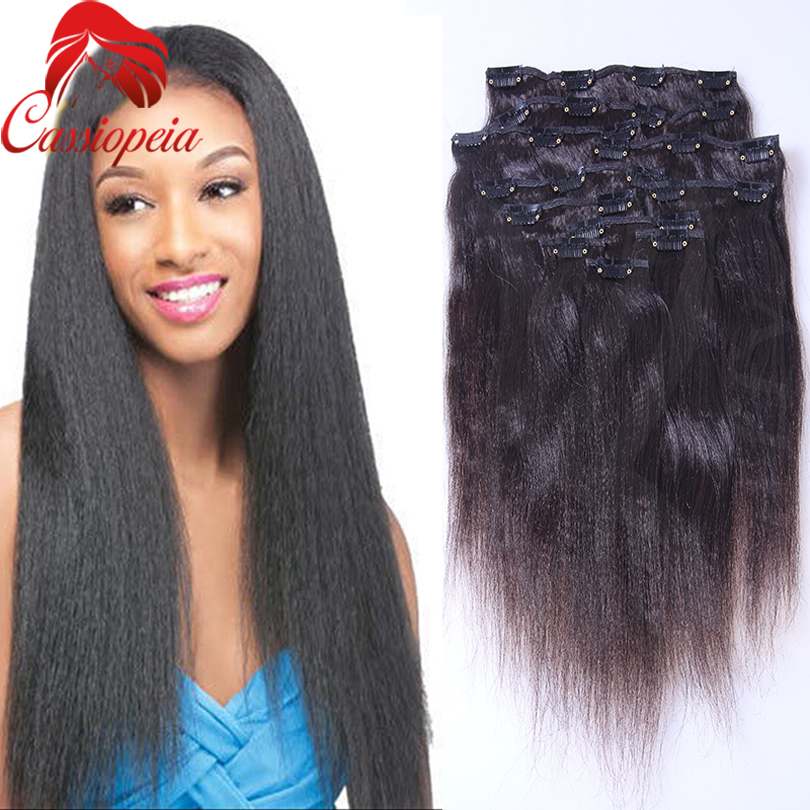 Yaki clip on hair extensions tape on and off extensions yaki clip on hair extensions 68 pmusecretfo Gallery