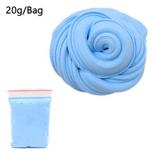 3D Fluffy Foam Clay Slime DIY Soft Cotton Slime Ball Kit No Borax Education Craft Toy Antistress Kid Toys for Children Wholesale(China)