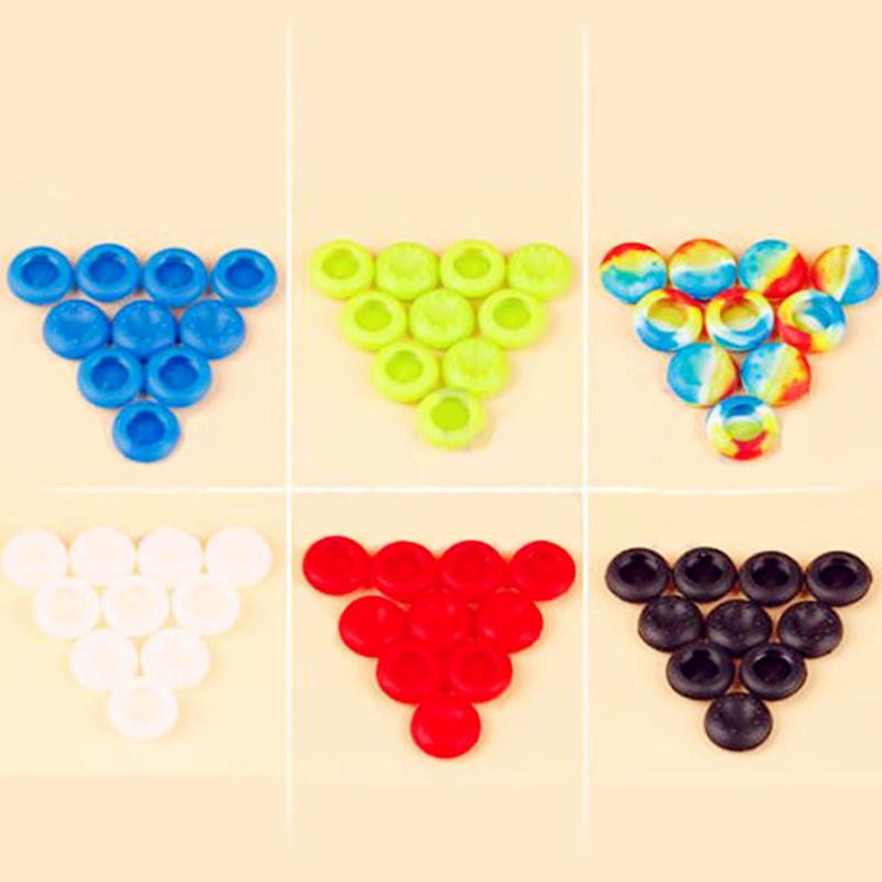 Гаджет  10 Pcs Silicone Controller Analog Grips Thumbstick Cap Cover For PS4 Thumb Stick Cap Xbox Game Accessories GM382 None Бытовая электроника