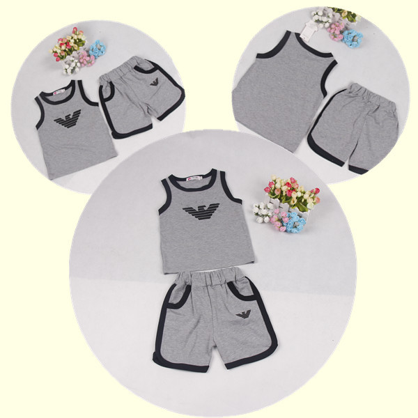 AliExpress.com Product - 2014 new chilldren summer clothing set, polo+short pant 2-piece set,casual style, 5 sets/lot, kids summer set