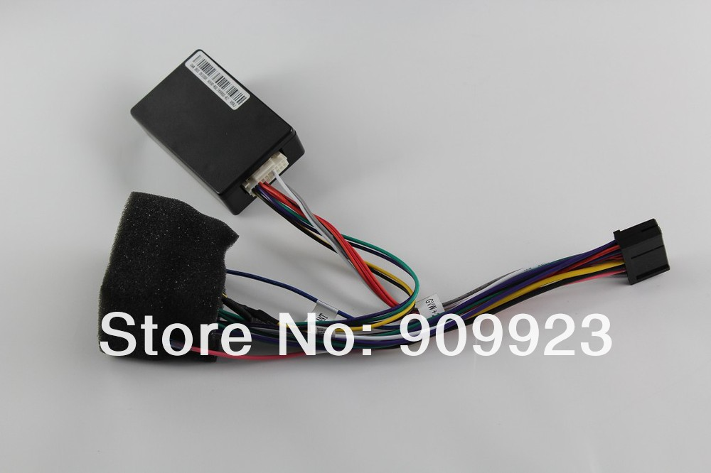 CAN-BUS Cable Support Original car steering wheel control(Please note this modle:Must buy our car DVD model Before you can use)(China (Mainland))