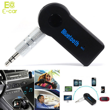 Universal 3.5mm Streaming Car A2DP Wireless Bluetooth Car Kit AUX Audio Music Receiver Adapter Handsfree with Mic For Phone MP3(China (Mainland))