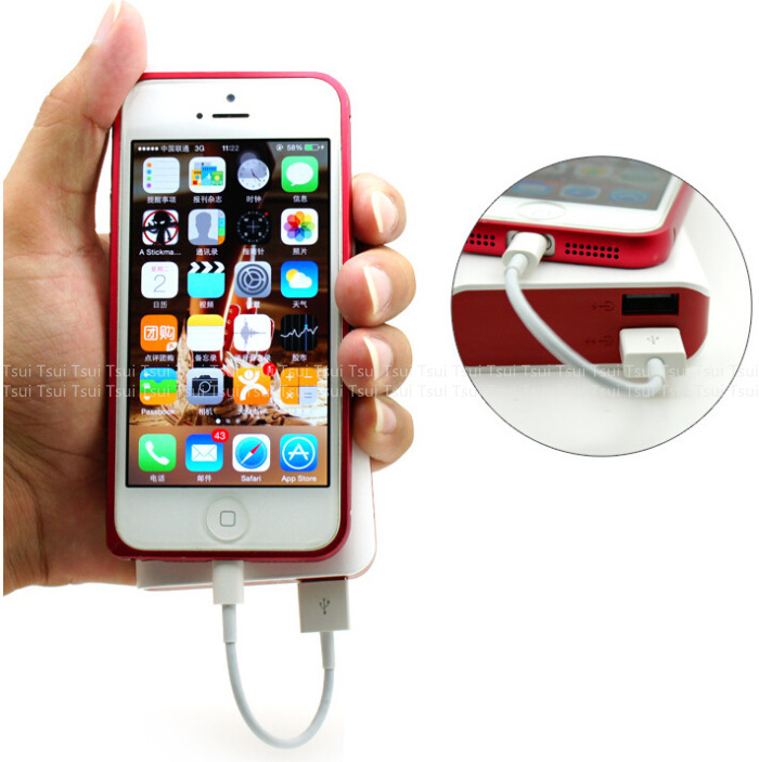 10cm SHORT THICK Data Charger USB Cable WHITE for iPhone 6 Plus 5s 5c 5 iOS 8 for iPhone 6 6 plus