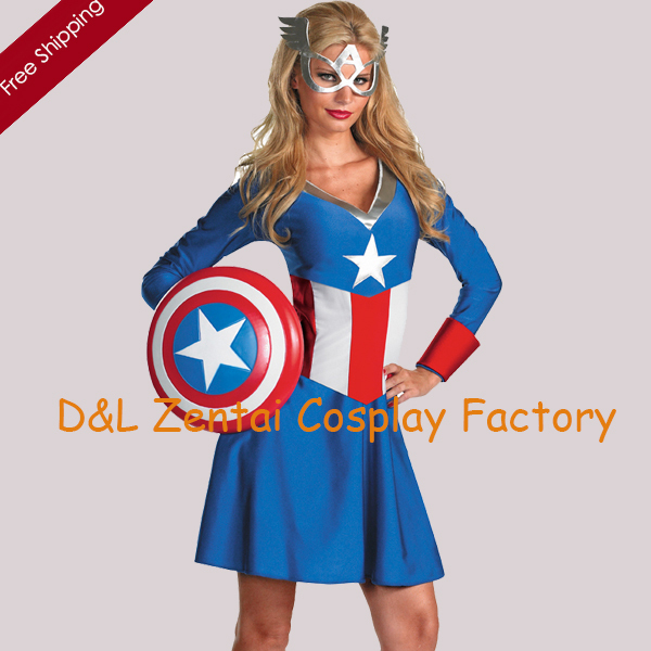 free shipping dhl costumes for captain