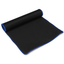 Big Mouse Pad 60*30CM Gaming Computer Rubber Sift Simple Surface Pro Mat Keyboard Blue for PC Laptop Computer