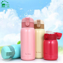 Cute mini coffee thermos flask bottle cup vacuum flasks Stainless steel water 500ml termos termo cups mugs - ShangHai PowerLife store