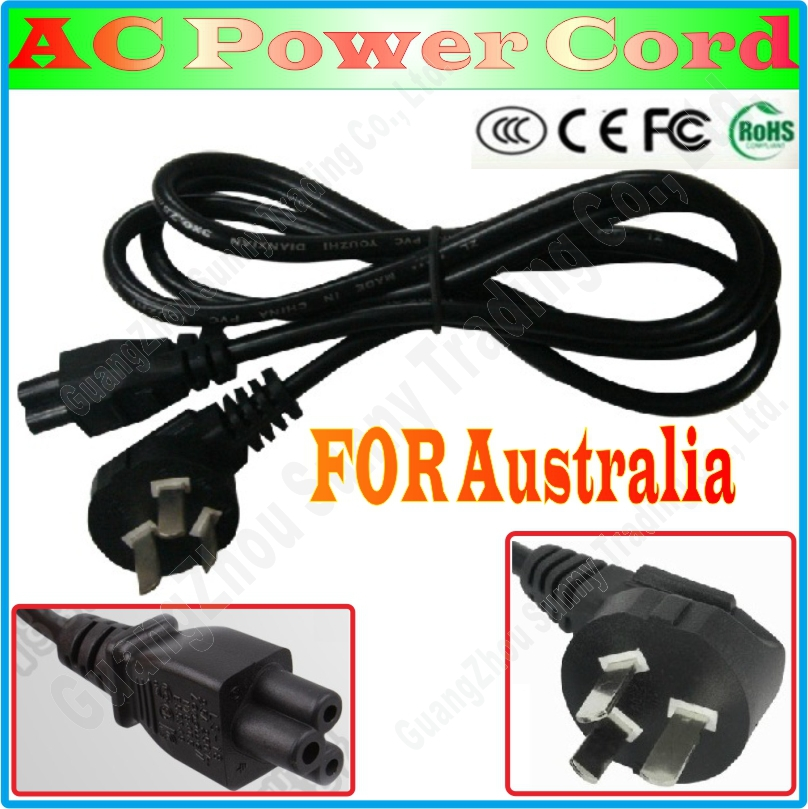 Best Price, AU Australian 3 Prong AC Laptop Power Cord For Asus HP Sony Dell lenovo Acer Sumsung High Quality, Power Line(China (Mainland))