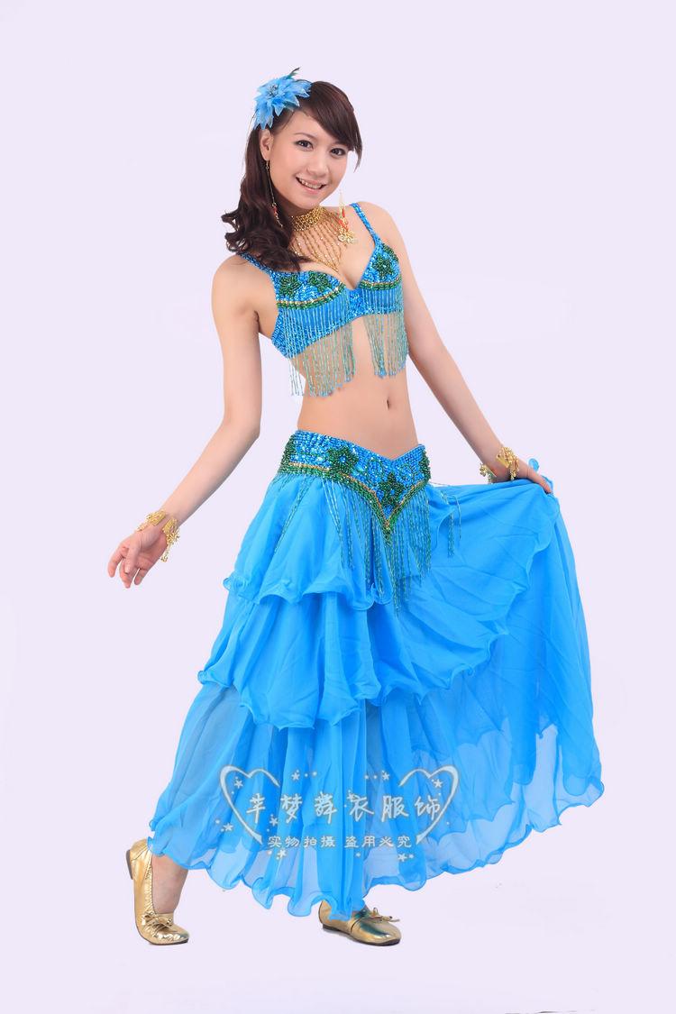 Belly dance suit belly dance costume belly dance wear belly dance performance top grade