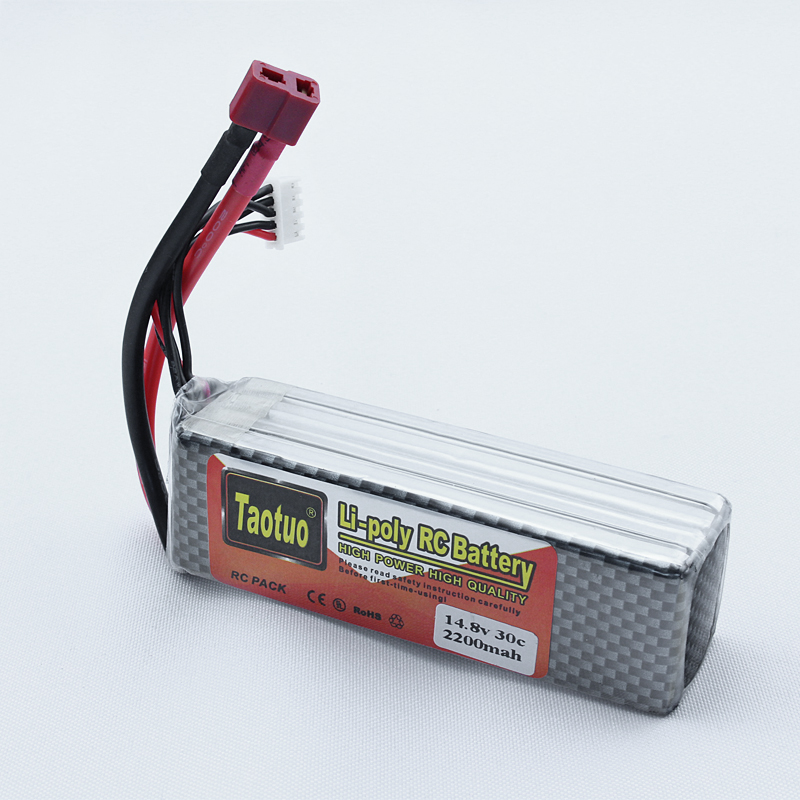 Lithium Lipo Battery 14.8V 2200mAh 30C Max 50C 4S T Plug For RC Quadcopter Truck Car Drone Buggy Bateria Lipo High Quality<br><br>Aliexpress