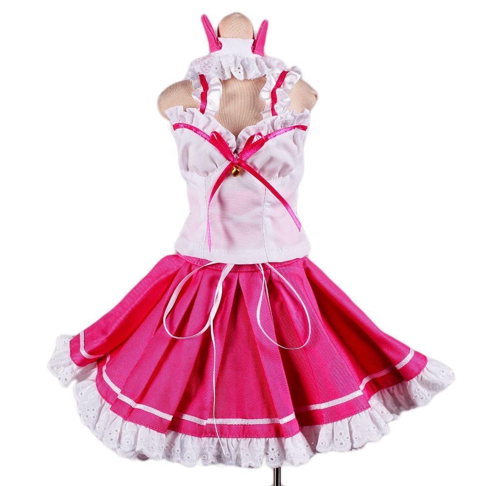 Здесь можно купить  [wamami] 129# Pink&White Cat Princess Dress/Suit/Outfit 1/4 MSD DOD BJD dollfie  Игрушки и Хобби