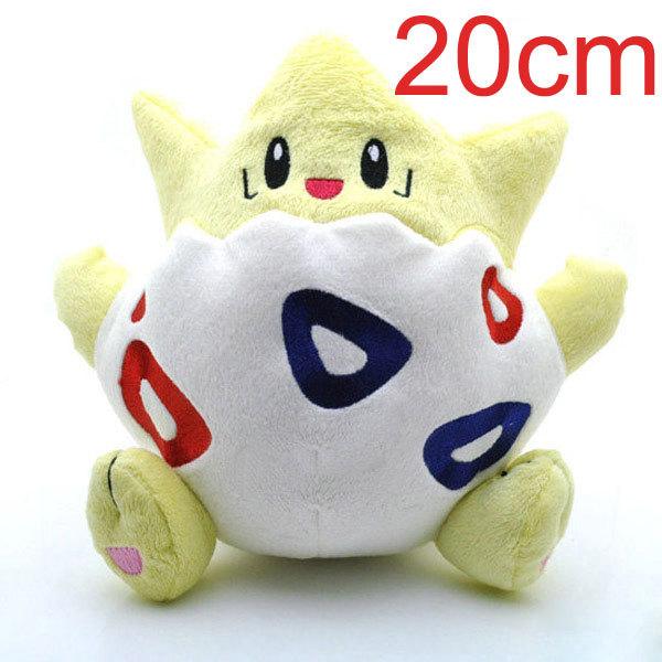 Pokemon Plush Peluche Pikachu Fluffy Plush Toys Togepi 1pcs 20cm The Anime Cute Mini Toys Kids Gifts Toys 1032(China (Mainland))