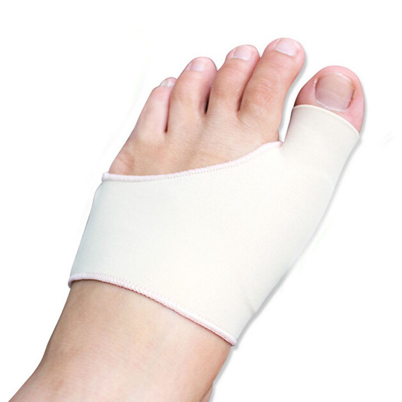 Bunion Protector Silicone Gel Sleeve Hallux Valgus Orthotics,Overlapping big Toe Orthopedic Toe Separator Foot Care Insoles