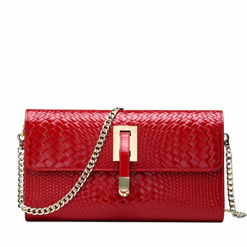 HIGH QUALITY COW FISRT HIDE KNITTED AND EMBOSSED GENUINE LEATHER WOMENS EVENING BAG HANGBAG HD8828<br><br>Aliexpress