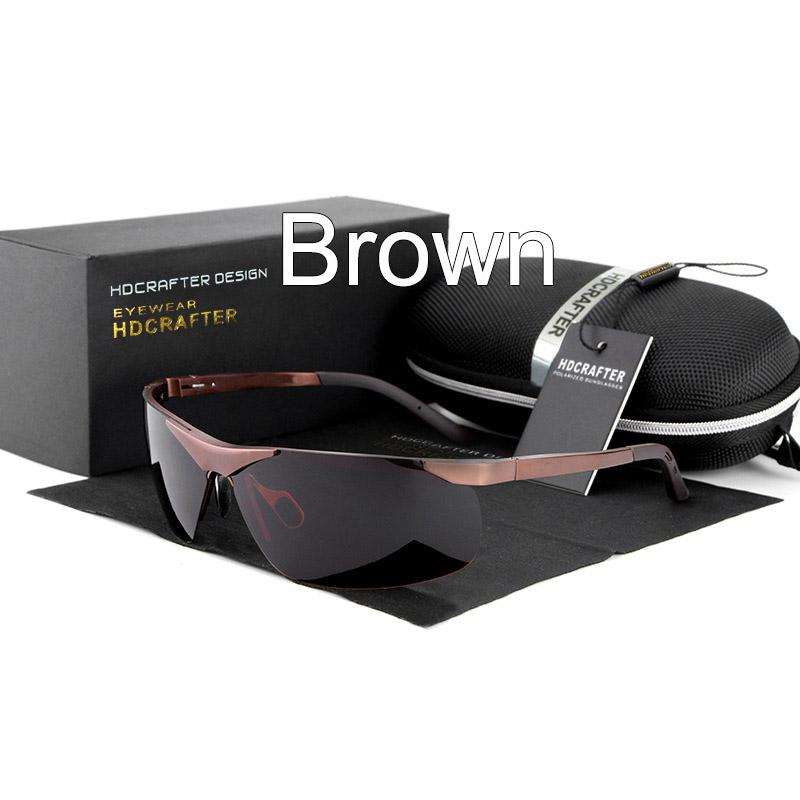 Man sunglasses Driving hot fashion brand glasses 2016 male designers polarized light quality UV400 polarized sunglasses E806(China (Mainland))