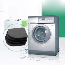 4pcs Washing Machine Anti Vibration Pad Shock Proof Non Slip Foot Feet Tailorable Mat Refrigerator Floor Furniture Protectors(China (Mainland))
