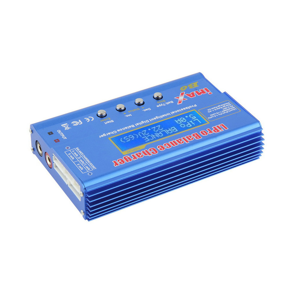 iMAX B6 Lipo NiMh Li ion Ni Cd RC Battery Balance Digital Charger Discharger C1Hot New