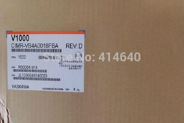 CIMR-VB4A0018FBA inverter industrial VFD frequency AC drive NEW(China (Mainland))