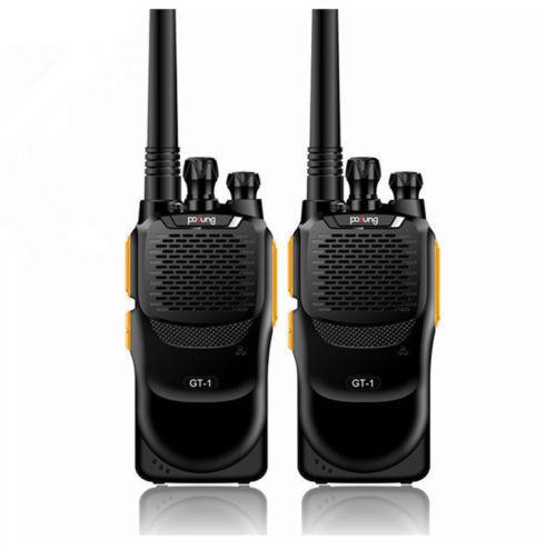 2 PCS Baofeng GT-1 Pofung UHF 2M 400-470MHz 16CH FM Two-way Ham Hand-held Radio Walkie Talkie Better Than BF-888s(China (Mainland))